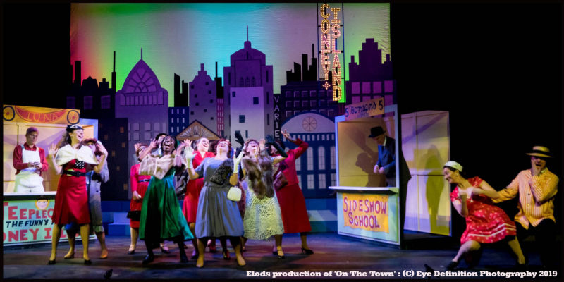 Elods presents 'On The Town' May 2019 -Production photo